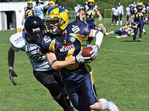 Felix Köster war von den Spartans nicht aufzuhalten.