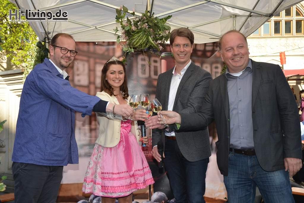 16-05-04 Eröffnung Weinfest Hildesheim 2016